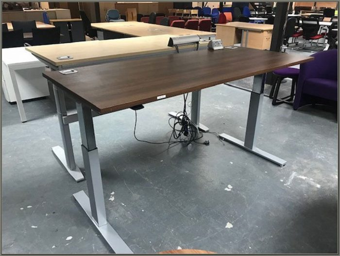 Used Adjustable Height Desk