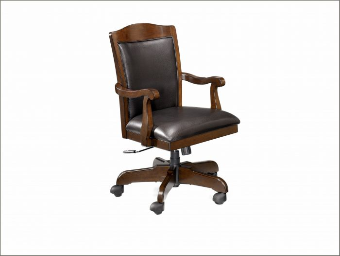 Wood Swivel Desk Chair