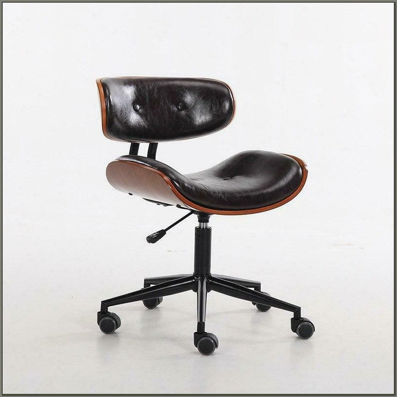 Wooden Swivel Desk Chairs