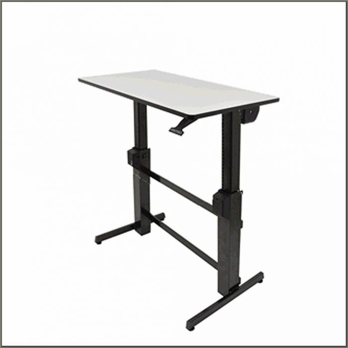 Workfit D Sit Stand Desk