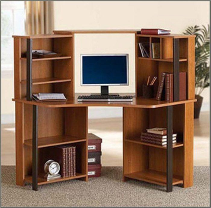 Workstation Desk With Hutch