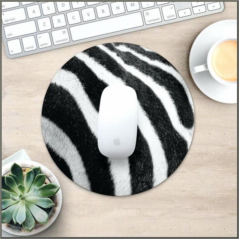 Zebra Print Desk Accessories