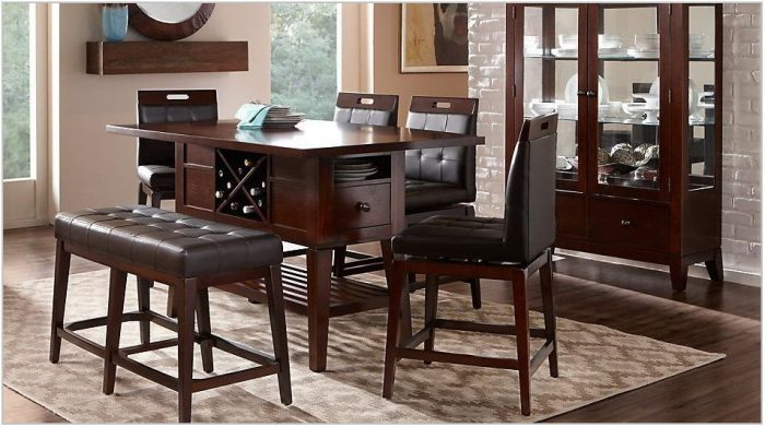 4 Pc Dining Room Sets