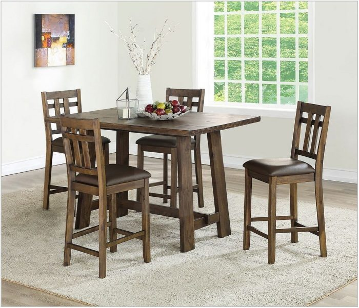 5 Piece Counter Height Dining Room Set