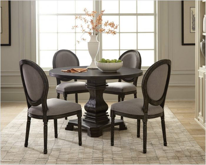 5 Piece Gray Dining Room Set