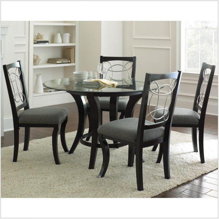 5 Piece Round Dining Room Set