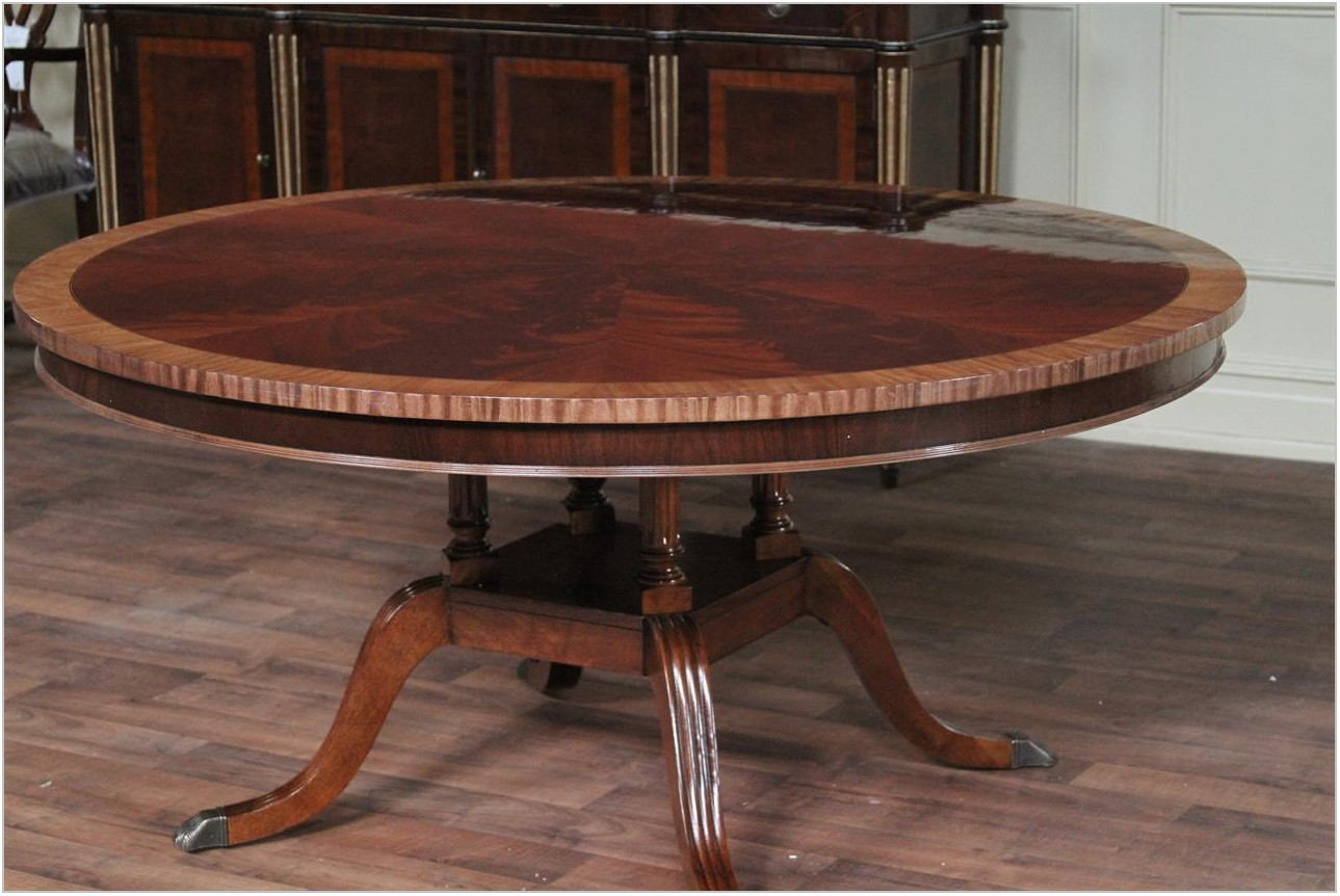 6 Foot Round Dining Room Table