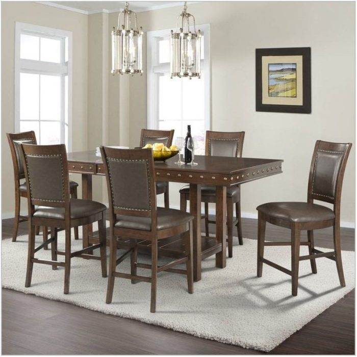 7 Piece Counter Height Dining Room Sets