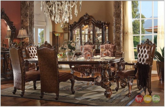 8 Piece Dining Room Table