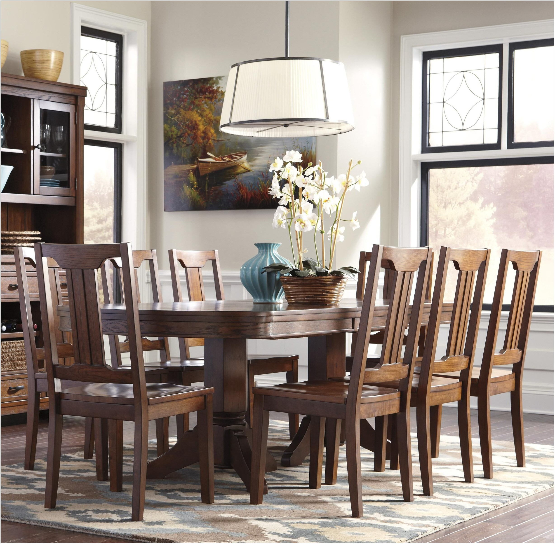9 Piece Oval Dining Room Set