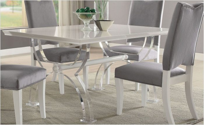 Acrylic Dining Room Set