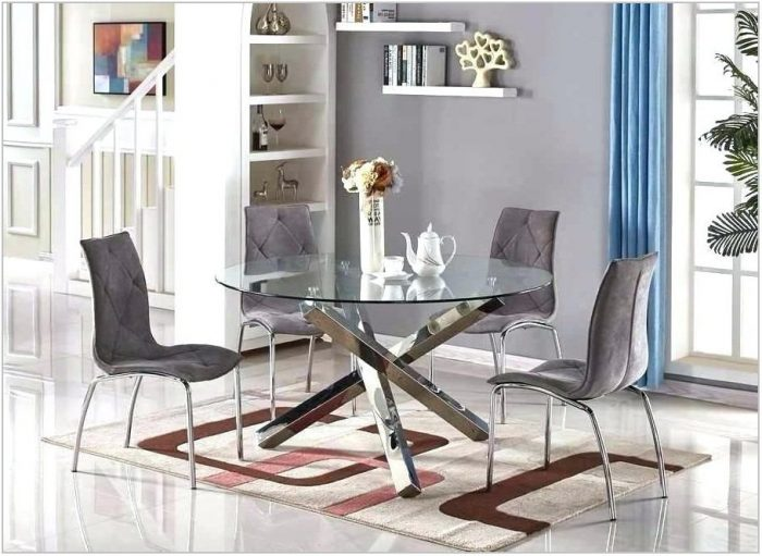 All Glass Dining Room Sets