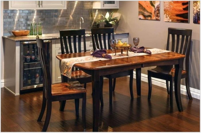 Amish Dining Room Table Sets
