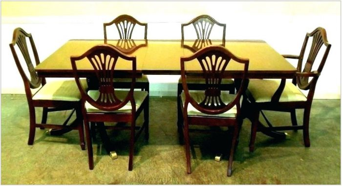 Antique Dining Room Chairs For Sale
