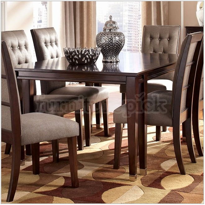 Ashley Dining Room Set With Bench