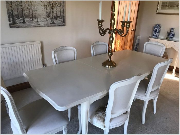 Ashley Dining Room Table And Chairs