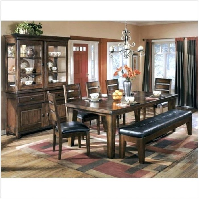 Ashley Furniture Dining Room Sets With Bench