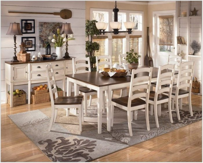 Ashley Furniture Dining Room Table Sets