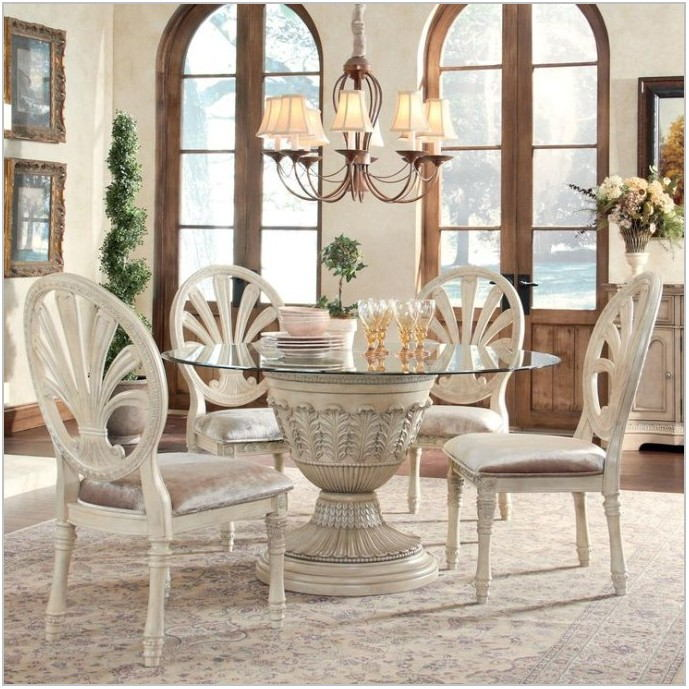 Ashley Furniture Glass Dining Room Sets