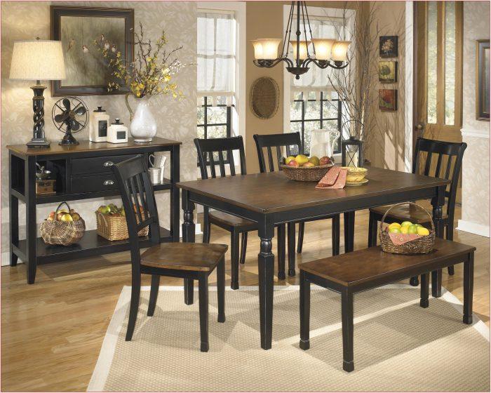 Ashley Furniture Hayley Dining Room Set