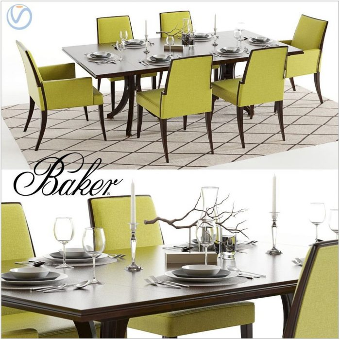 Baker Dining Room Table And Chairs