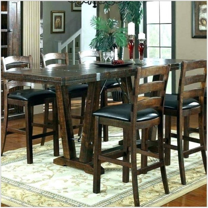 Bar Style Dining Room Sets