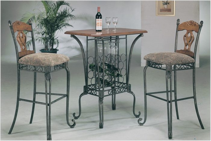 Bar Top Dining Room Sets