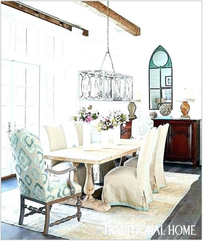 Beachy Dining Room Light Fixtures