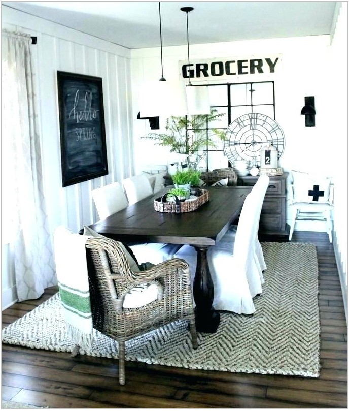 Best Rug Material For Dining Room