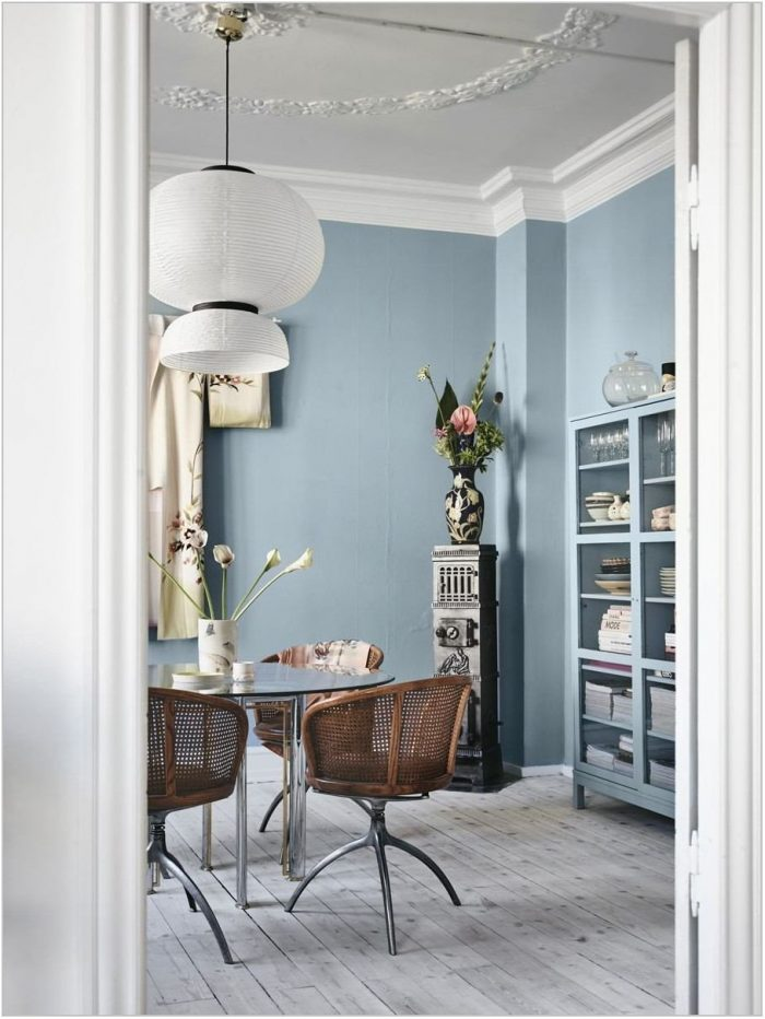 Blue Dining Room Paint Colors