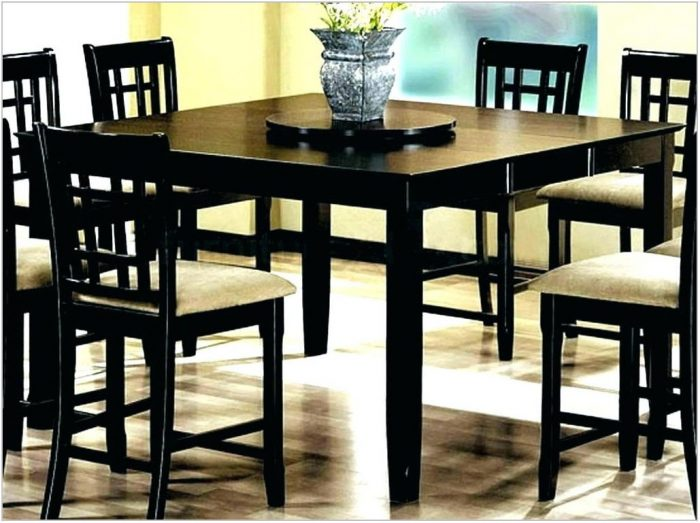 Bolanburg Counter Height Dining Room Table Set