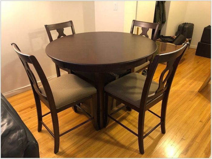 Brown Wood Dining Room Chairs