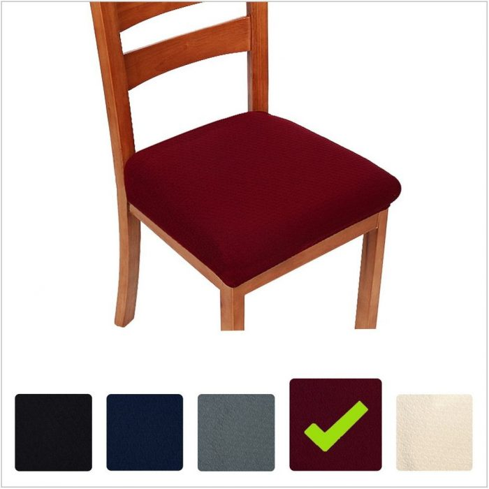 Burgundy Dining Room Chair Covers