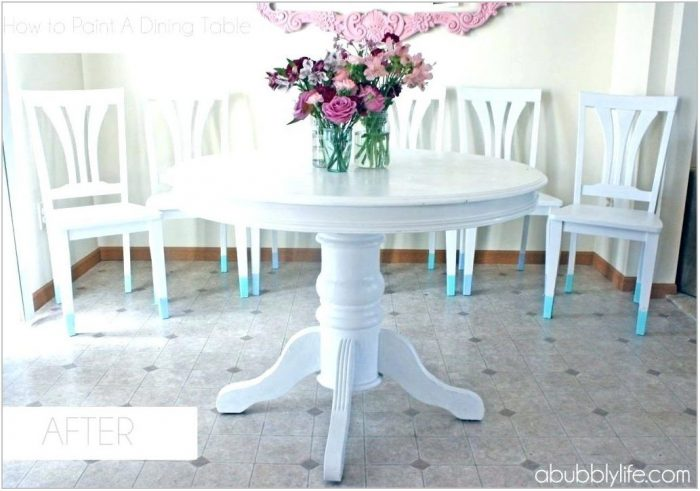 Chalk Paint Dining Room Furniture