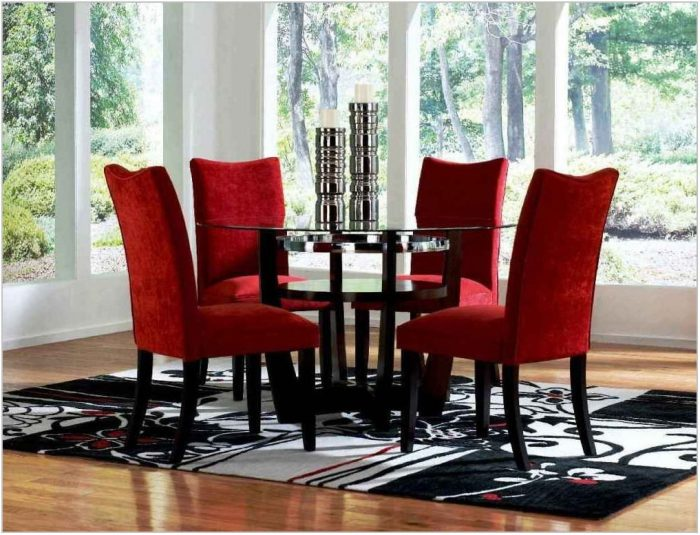 Cheap Glass Dining Room Sets