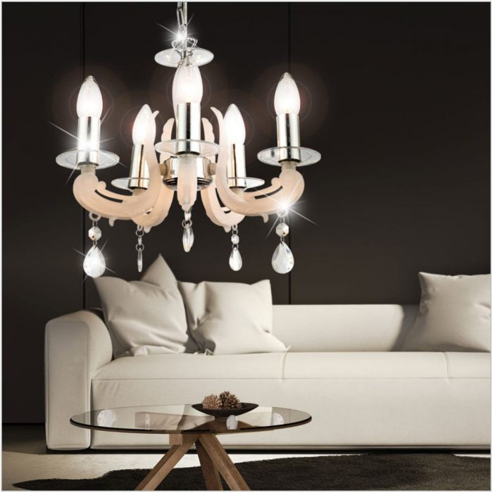 Chrome Dining Room Chandelier