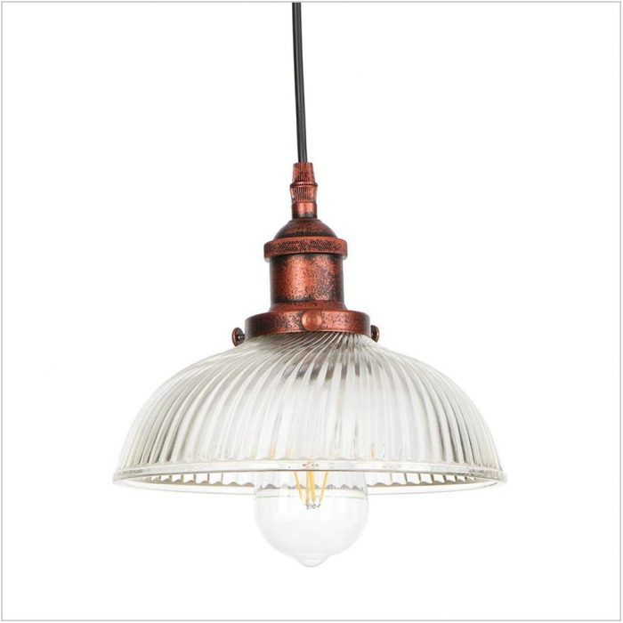 Clear Glass Dining Room Light Fixture
