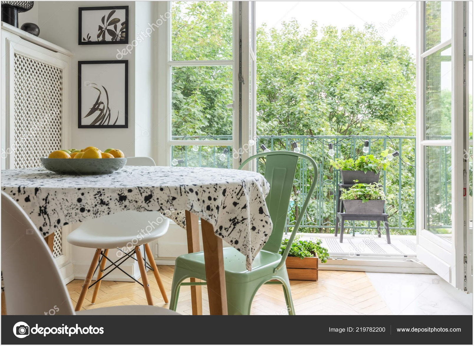 Cloth Dining Room Table Chairs