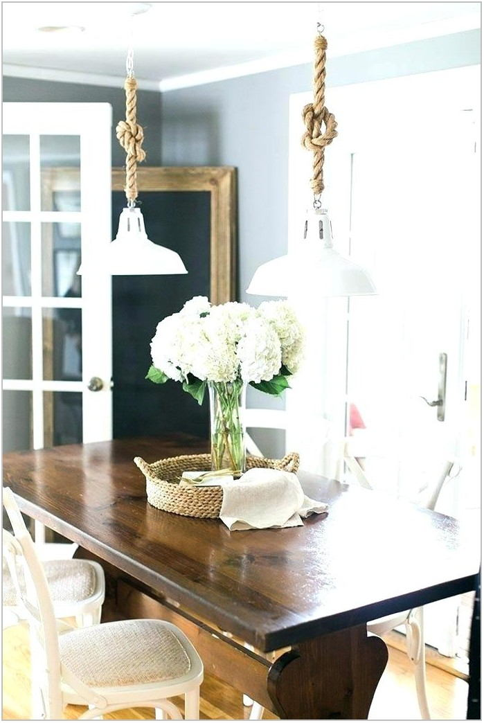 Coastal Chandelier For Dining Room