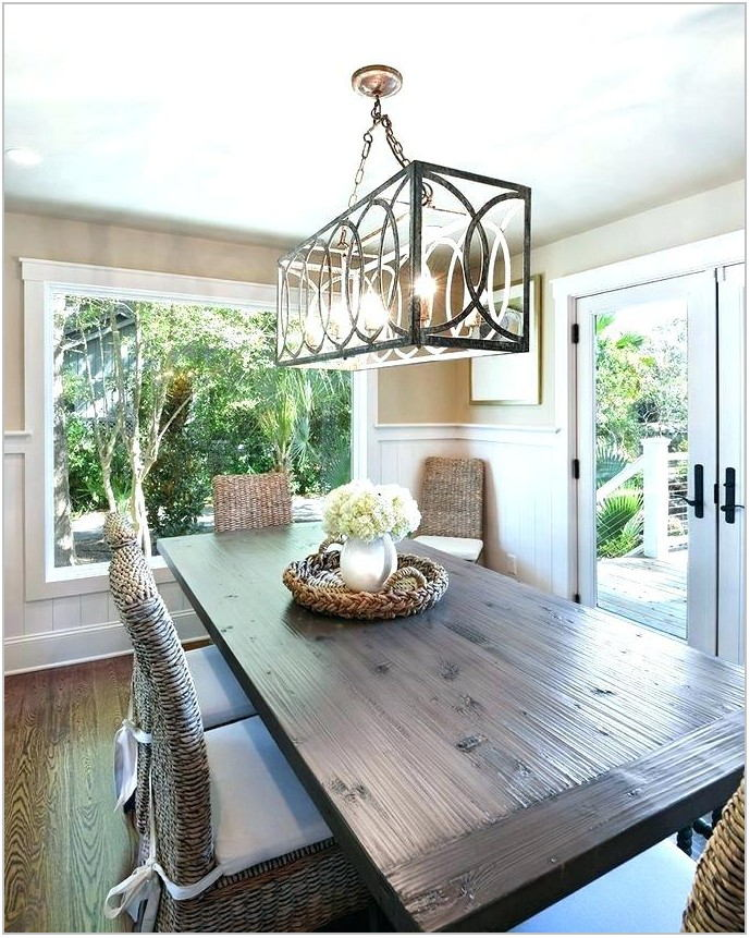 Coastal Lighting For Dining Room