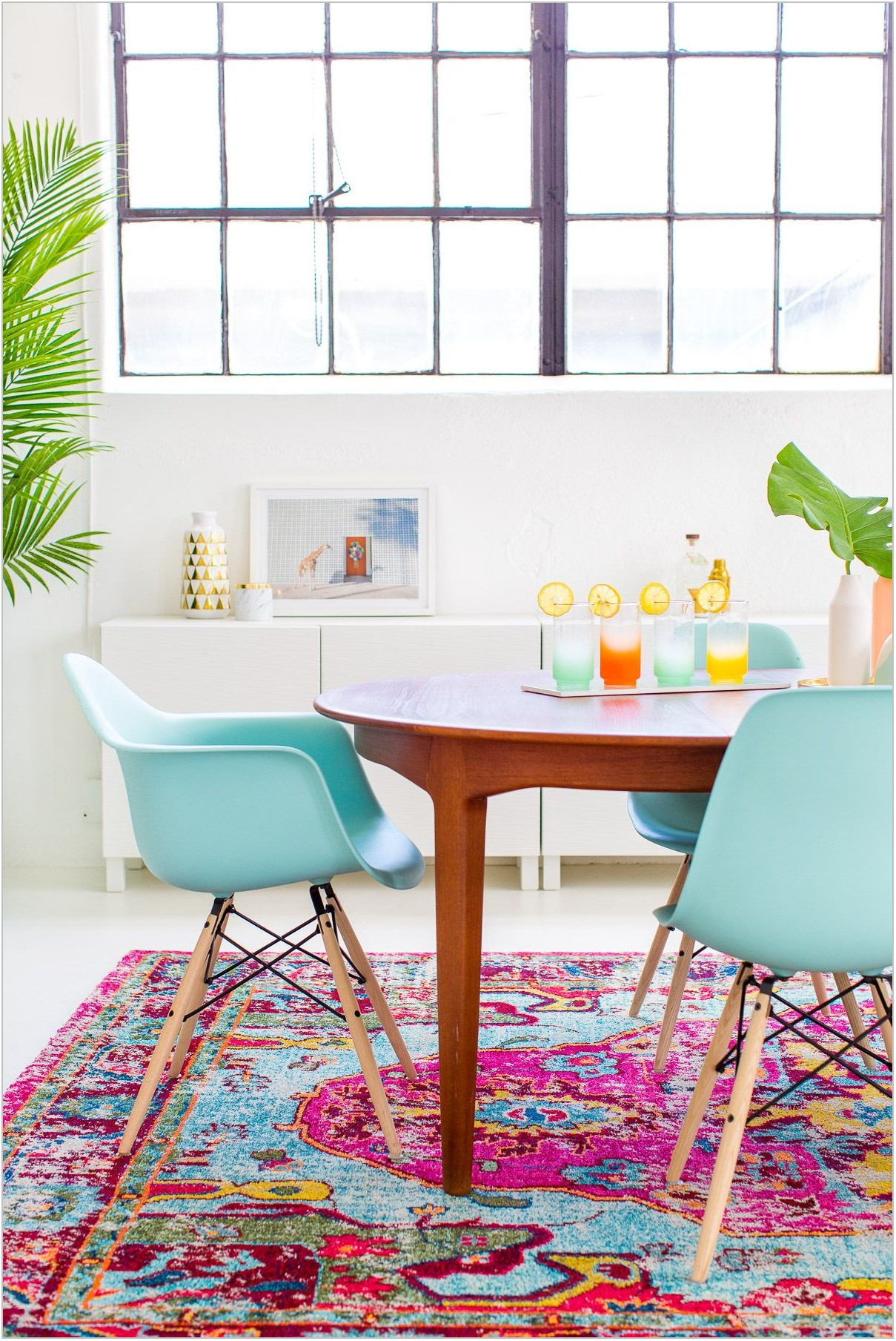 Colorful Dining Room Rugs