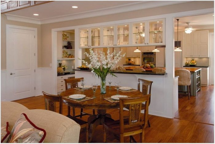 Combined Kitchen And Dining Room Design