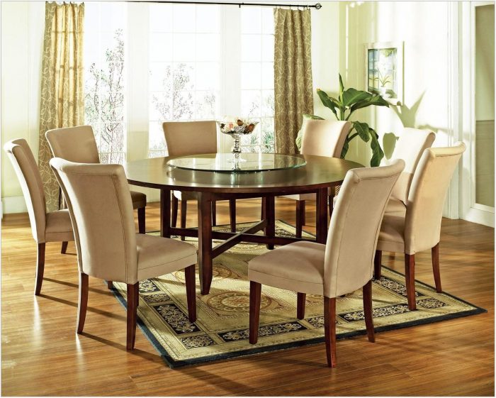 Contemporary 9 Piece Dining Room Sets