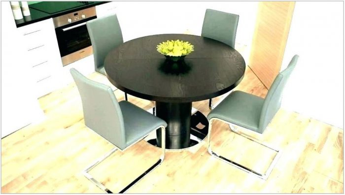 Contemporary Extendable Dining Room Table