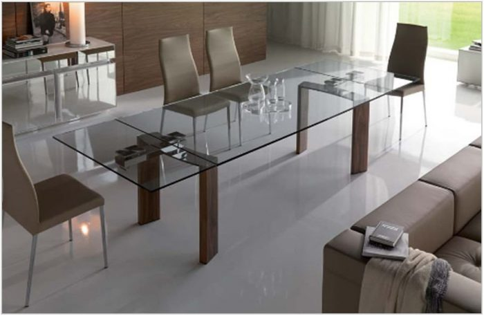 Contemporary Glass Dining Room Sets