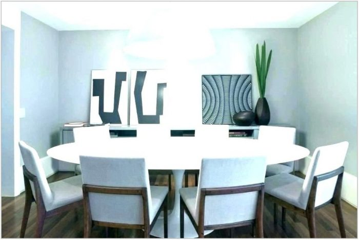 Contemporary White Dining Room Sets