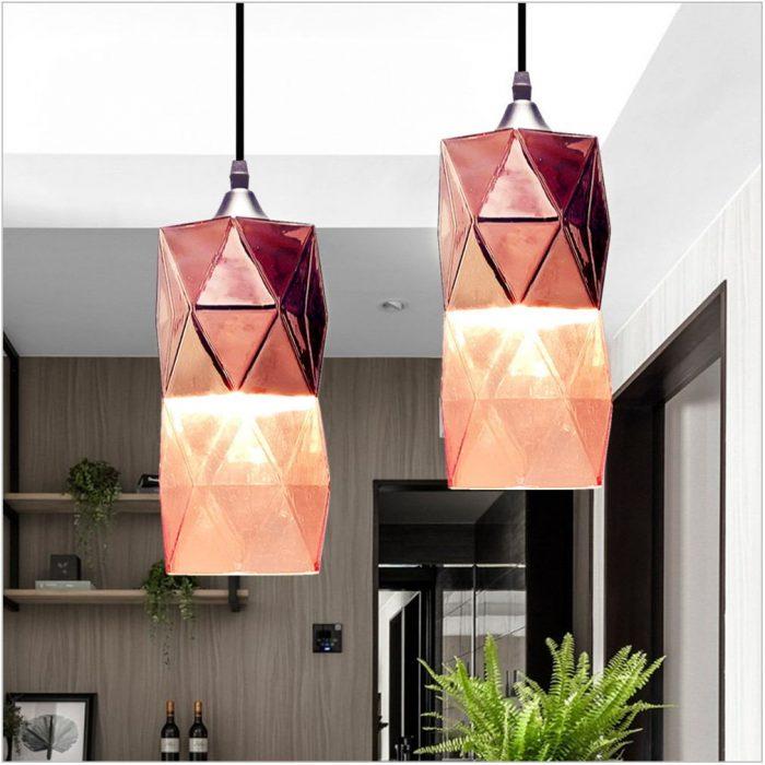 Copper Pendant Light Dining Room