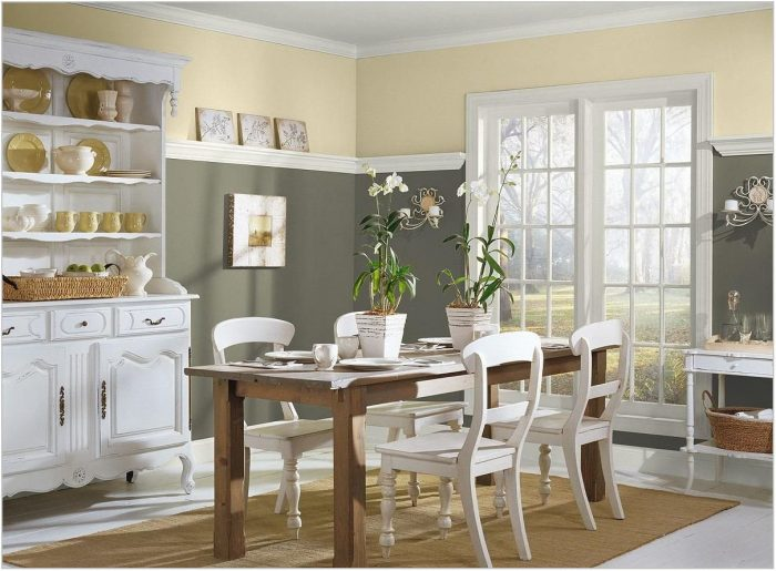 Country Dining Room Colors