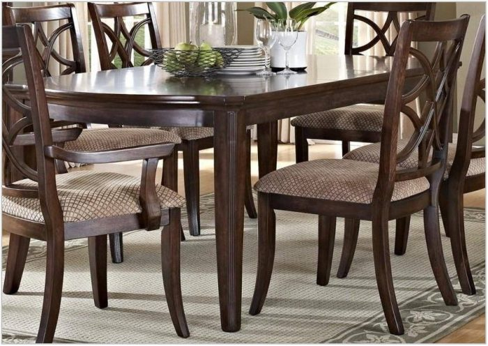 Dark Dining Room Furniture