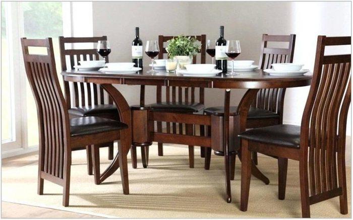 Dark Wood Dining Room Furniture